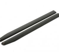 715mm TIG en fibre de carbone Z-Weave principal Lames
