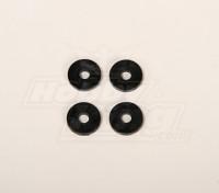 Pales rondelle en plastique pour 50 helis 4x20x2mm (4 pièces)