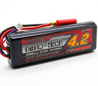 Turnigy nano-tech 4200mAh 2S2P 40 ~ 80C (Hardcase stick pack)