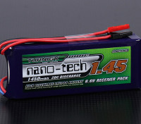 Turnigy nano-tech 1450mAh 2S1P 20 ~ 40C LiFePo4 Receiver Paquet