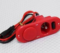 Lourd commutateur Duty RX avec prise de charge et carburant Red Dot