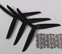 HobbyKing ™ 3-Blade Hélice 7x3.5 Noir (CCW) (3pcs)