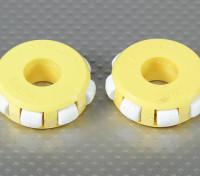 41x14mm plastique Omni Wheel (2Pcs / Bag)
