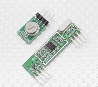Superheterodyne 3400 Wireless Receiver Module et transmetteur sans fil 315RF