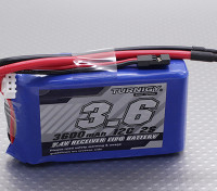 Turnigy 2S 3600mAh 12C Accus de réception Accus