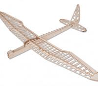 Sunbird électrique Planeur Laser Cut Balsa Kit 1600mm (Kit)