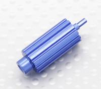 Aluminium Upgrade rouleau molette de défilement pour Spektrum DX Series Transmetteurs (Bleu)
