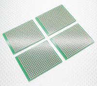57x45mm PCB Board Bread DIY (4pcs / sac)
