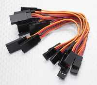 10CM Servo Extention Lead (JR) 26AWG (10pcs / bag)