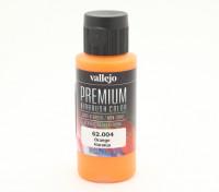 Peinture acrylique de couleur Vallejo Premium - Orange (60ml)