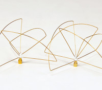 900Mhz à polarisation circulaire Antenne Set (RP-SMA) (PCG) (Short)