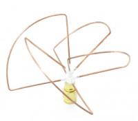 2.4GHz à polarisation circulaire antenne RP-SMA Récepteur seulement (Short)