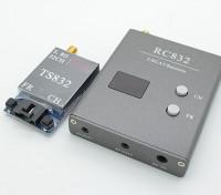 SkyZone 5.8g 600MW 32CH FPV Wirless AV Tx et Rx Set TS832 et RC832