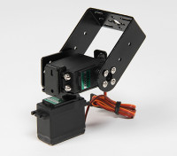 Kit Duty Pan et Tilt base lourd avec 160deg Servos Robotic Limb ou suivi d'antenne (Long Arm)