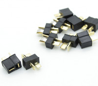 Mini Black T Connector Pack (5 paires)