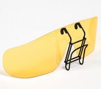 Turnigy Clip-on lunettes de soleil polarisées (Jaune)
