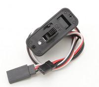Futaba Harness Switch avec Construit en charge Socket et batterie Voyant