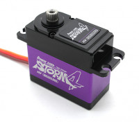 Puissance HD Storm-4 Voltage Digital High Brushless Servo w / alliage de titane Gears 25kg / 80g / .085sec