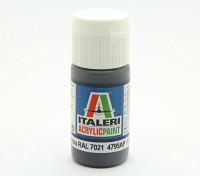 Italeri Peinture acrylique - Flat Pz schwarzgrau RAL 7021