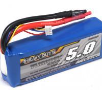 Turnigy lourds 5000mAh 3S 60C Lipo Paquet