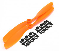 Turnigy slowfly Hélice 8x4.5 Orange (CCW) (2pcs)
