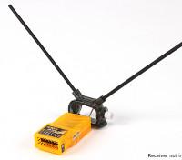 HobbyKing ™ Support réglable Récepteur double antenne 45deg (Pack 2)