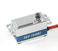 Turnigy ™ GTY-159BL Low Profile DS / MG Car Servo 10 kg / 0.08sec / 55g