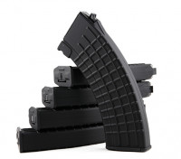 King Arms 600rounds Waffle Motif magazines pour Marui AK AEG (Black, 5pcs / box)