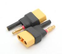 HXT 4mm Bullet Adaptateur Batterie XT90 (2pcs)