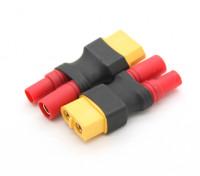 HXT3.5mm Adaptateur Batterie XT60 (2pcs / sac)