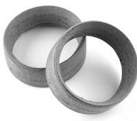 Équipe Sorex 24mm moulés Inserts pneus de type B Medium (2pc)