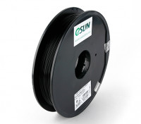 ESUN Imprimante 3D Filament Noir 1.75mm PLA 0.5KG Spool