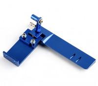 HobbyKing ™ aluminium Assemblée Rudder Marine (Bleu)