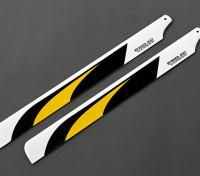 335mm en fibre de carbone principal Lames