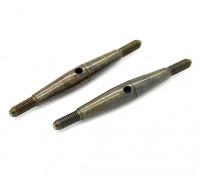 TrackStar 1/10 Spring Steel Turnbuckle M3x45 (2pcs)