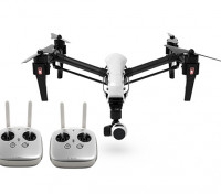 DJI T600 Inspire 1 Quadcopter w / caméra 4K, 3-Axis Gimbal et double Transmetteurs