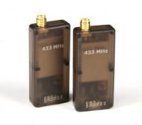 HKPilot 500mW Transceiver Télémétrie Radio Set V2 (433Mhz)