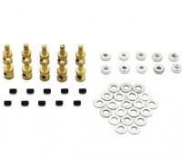 Brass Linkage Stopper Pour 1.2mm tringles (10pcs)