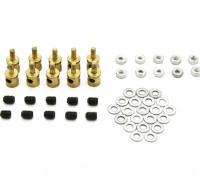 Brass Linkage Stopper Pour Pushrods 2mm (10pcs)
