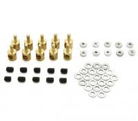 Brass Linkage Stopper Pour Pushrods 3mm (10pcs)