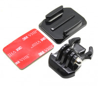 Mont Casque avec Quick Release pour Caméra Turnigy action Cam / GoPro
