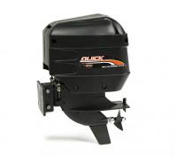 Rapide 540 Unité Outboard Marine avec lecteur flexible et Prop (moteur non inclus)