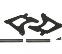Cadre Plate & Shaft Frame - Super Rider SR4 SR5 1/4 Échelle Brushless RC Moto
