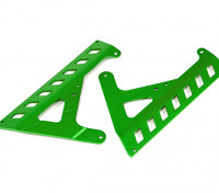 Panneaux BatteryFixed (vert) - Super Rider SR4 1/4 Échelle Brushless RC Moto