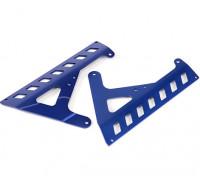 Panneaux BatteryFixed (Bleu) - Super Rider SR4 SR5 1/4 Échelle Brushless RC Moto
