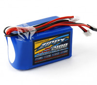 ZIPPY FlightMax 2100mAh 2S3P 7.4v Receiver Paquet