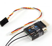 FrSky X4RA 3 / 16ch 2.4Ghz ACCST Receiver w / S.BUS, Port Smart & télémesure (2015 version EU)