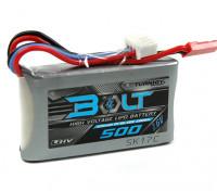 Turnigy Bolt 500mAh 2S 7.6V 65 ~ 130C High Voltage Lipoly Pack (LiHV)
