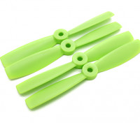 Diatone Bull Nose Plastic Hélices 5 x 4,5 (CW / CCW) (Vert) (2 paires)