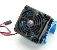 TURNIGY Heat Sink avec ventilateur pour 36 moteurs de série.